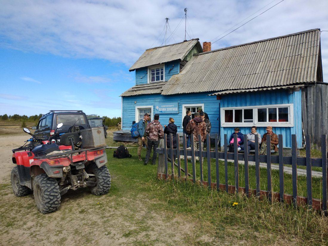 Деревня Летняя Золотица