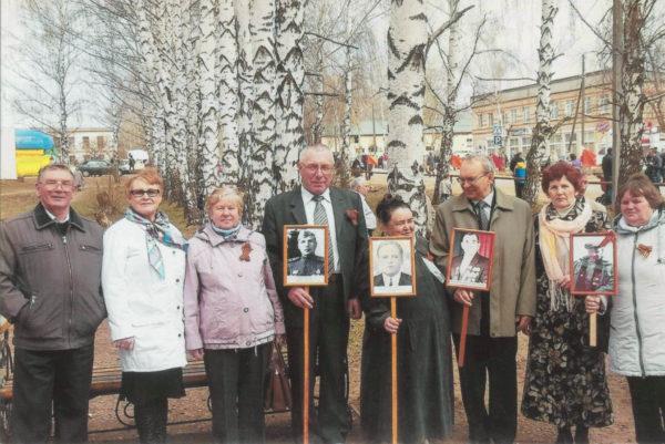 Партия пенсионеров в Частинском районе