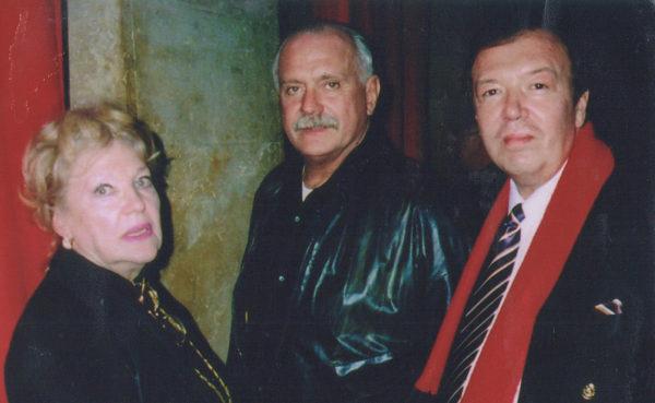 Владимир Новиков и Никита Михалков
